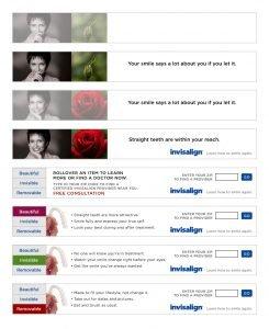 Invisalign - Robust interactive ad campaign