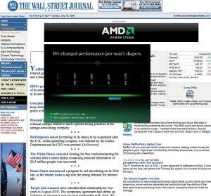 AMD banner ad campaign