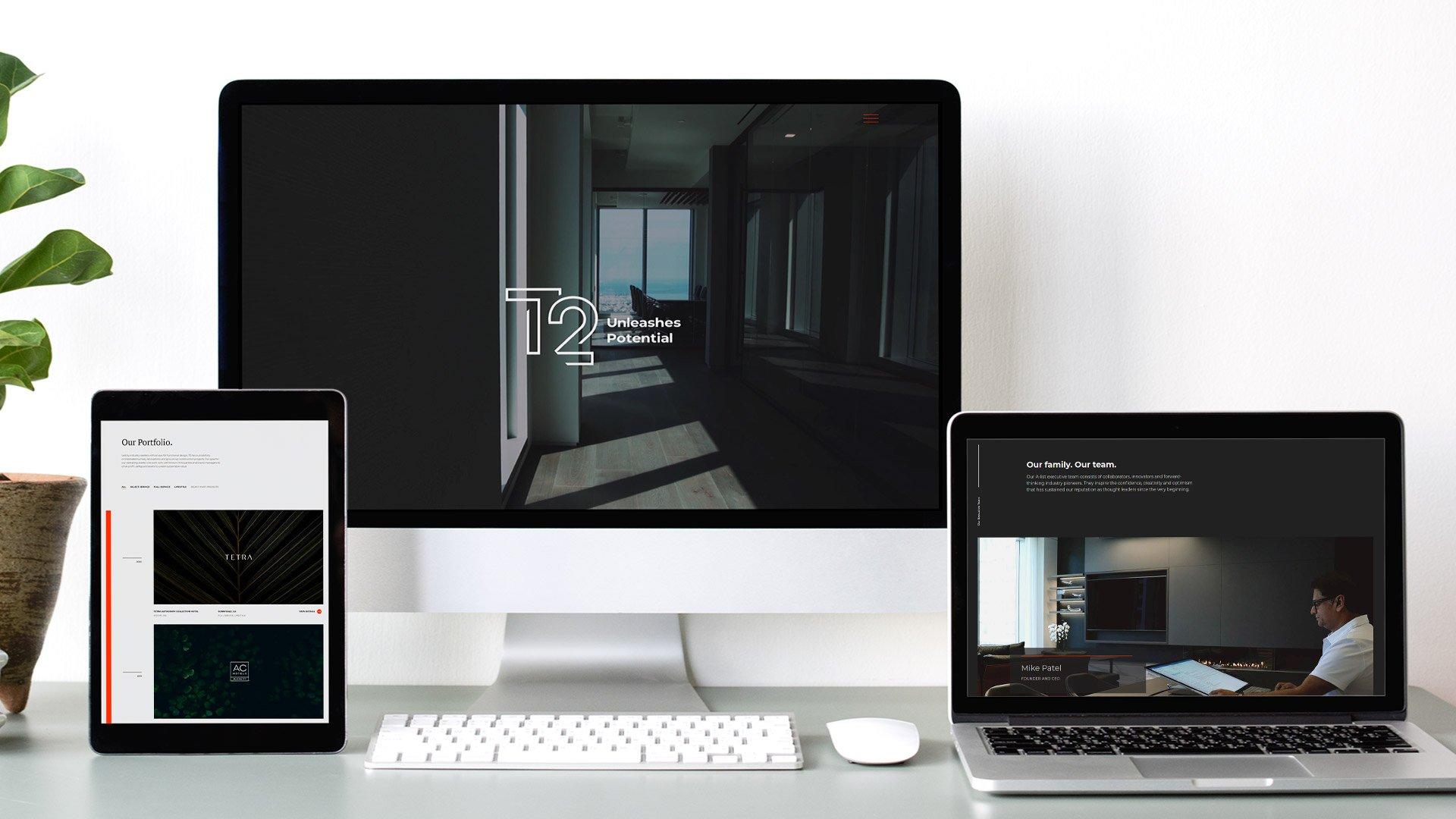 T2 Hospitality SEO Web Development
