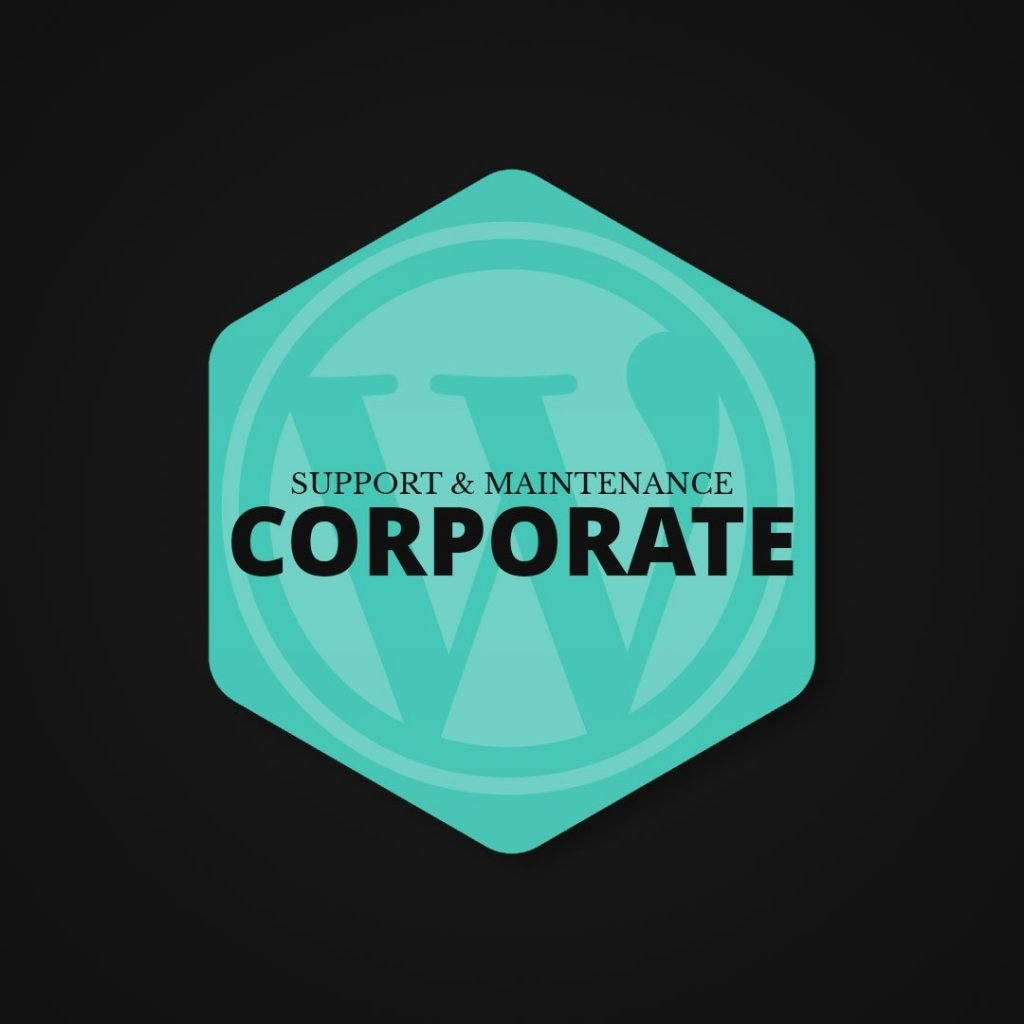 Wordpress Support & Maintenance Plan (Corporate)